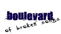 boulevard of broken songs