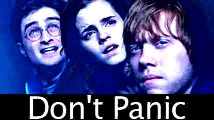 Harry Potter-Don't Panic