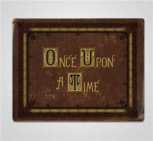 OUAT Credits-Storybook Style