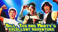 Bill, Ted and Marty's Excellent Adventure || Crossover