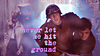never let me hit the ground (Steve/Bucky)