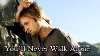 You will never walk alone Sawyer