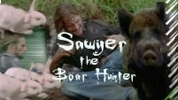 Sawyer The Boar Hunter