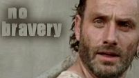 THE WALKING DEAD - NO BRAVERY