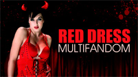 Multifandom - Red Dress