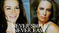 never simple, never easy // kate&piper