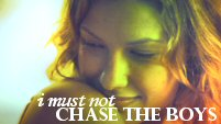 I Must Not Chase The Boys // Nikki