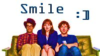 smile - the IT crowd
