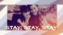 stay, stay, stay - april&andy