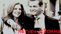 Donna and Harvey Suits